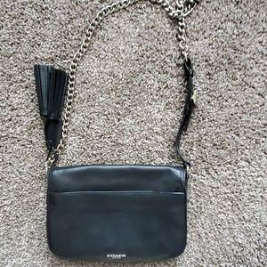 Coach leather handbag